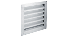 Air Vent Aluminum Wall Mount Louver Vents