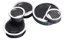 Air Vent Mini Louvers Mill Finish