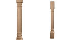 Ekena Millwork Richmond Fluted Cabinet Column