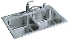 Sterling by Kohler Southhaven Stainless Steel Sink