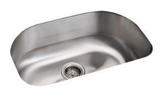 Sterling by Kohler Cinch Basin Stainless Steel Undermount Sink