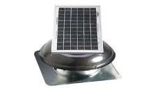 Air Vent Roof Mount Solar Attic Vent - 800 CFM