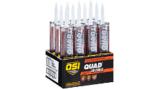 OSI QUAD Invisible Window, Door, & Siding Sealant (12 Tubes Per Carton)