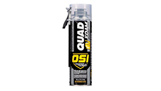 OSI QUAD FOAM Gun or Straw Window & Door Foam Sealant 16 oz. (12 Cans Per Carton)
