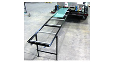 NTM 10' Run Out Table for Box Gutter Machine