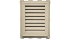 "Mid-America 18"" x 24"" Classic Style Vinyl Rectangle Gable Vents"