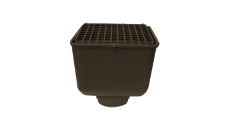 Marathon Brown Drain Box with Cover