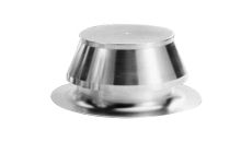Marathon Aluminum Large Capacity (LC) One Way Vent 8""