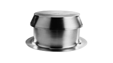 Marathon Aluminum Extra Large Capacity (XLC) One Way Vent 12""