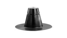 Marathon EX-Flow Vent One Way Black HDPE