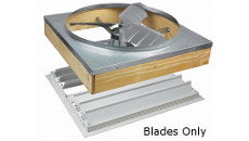 Air Vent Direct-Drive Whole House Fan Replacement Blades Only