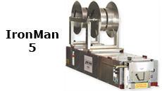 "KWM Gutterman Gutter Machine - 5"" IronMan - Double Spool Package"