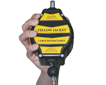 Guardian Fall Protection 10 Yellow Jacket Cable Self