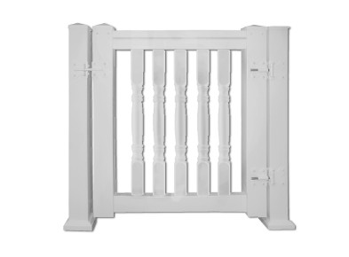 Fypon vinyl quickrail gate kits from for Fypon railing