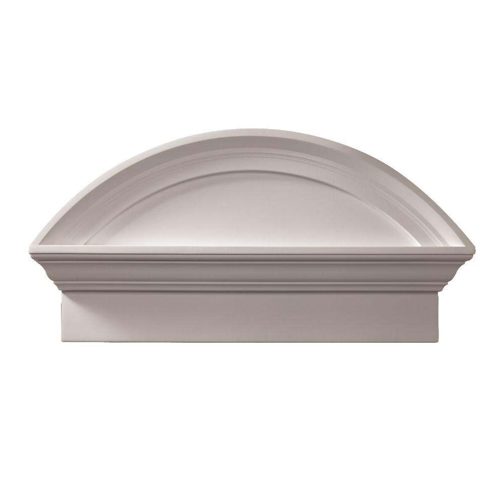 Fypon polyurethane combination segment arch pediments from for Fypon millwork