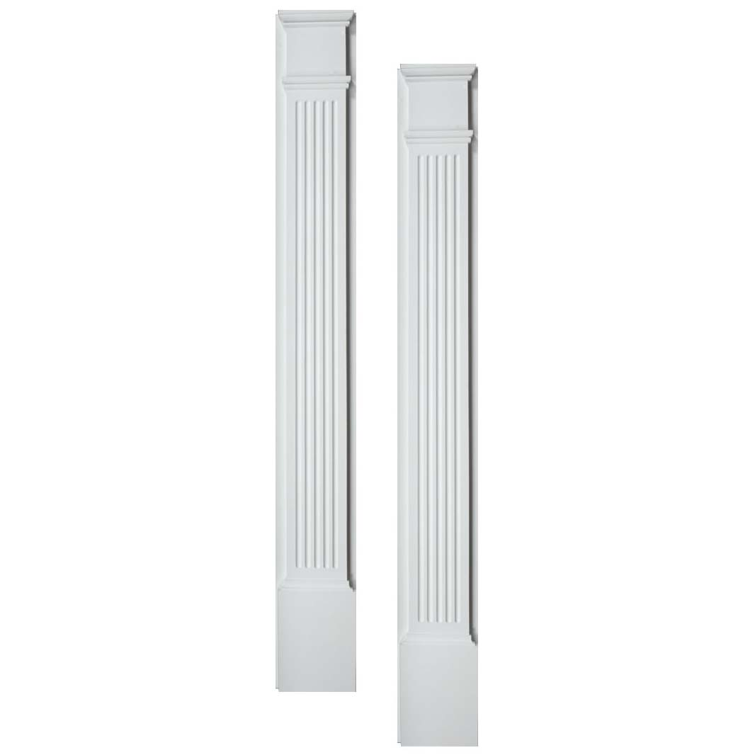 Fypon polyurethane fluted pilasters 1 pair from for Fypon products