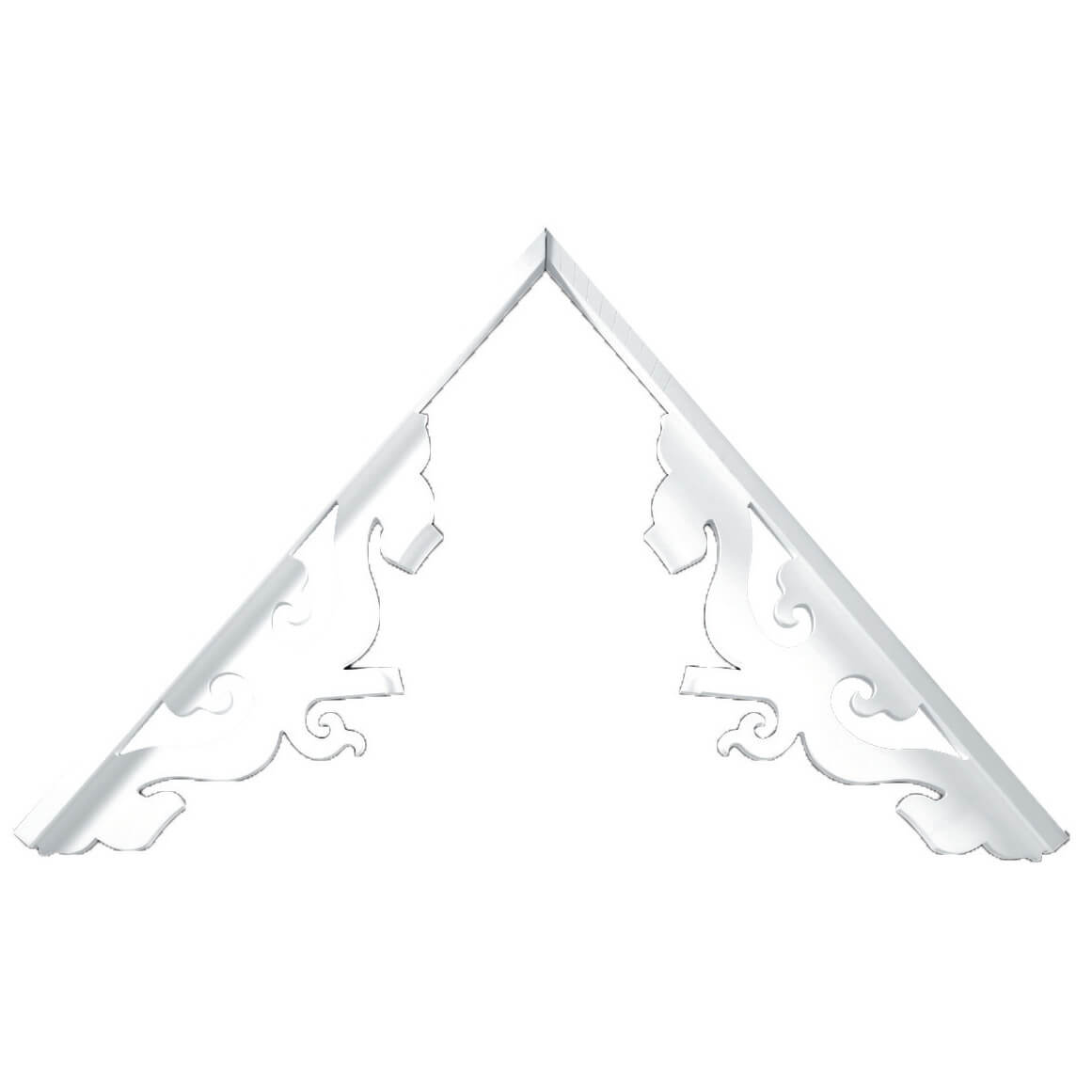 Fypon polyurethane stewart system gable pediments from for Fypon gable pediments