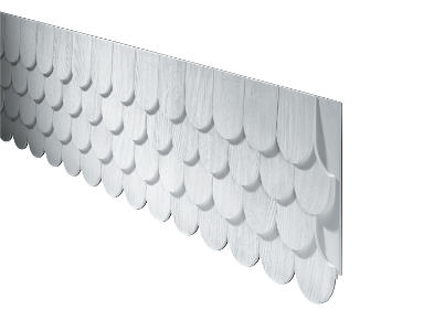 Fypon Polyurethane Fishscale Panel From Buymbs Com
