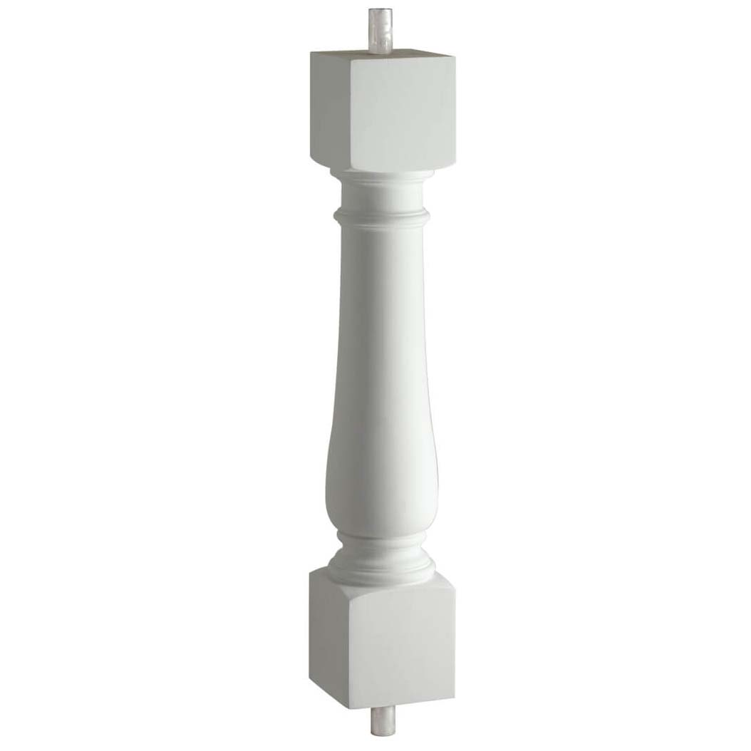 Fypon polyurethane classic baluster from for Fypon railing