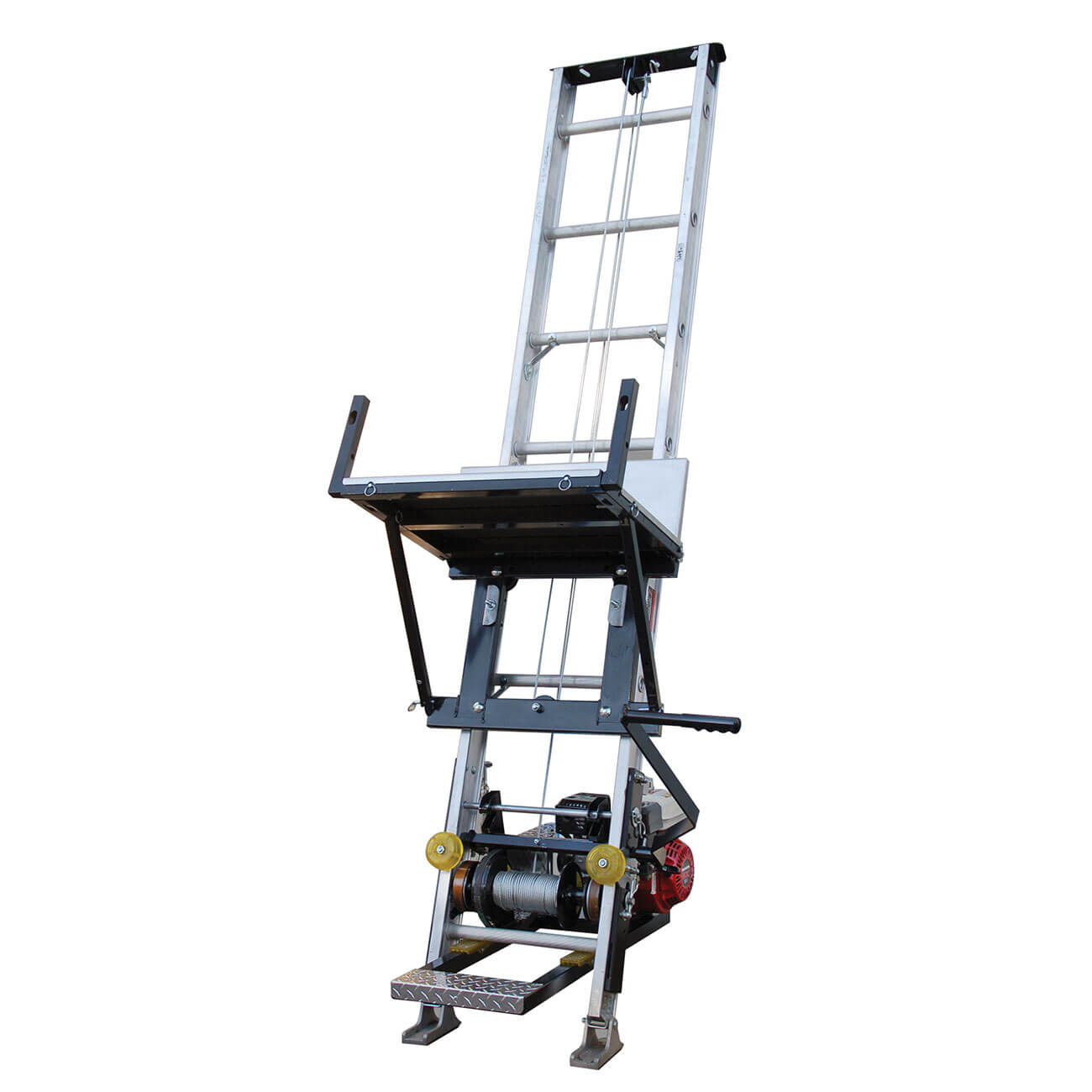 Tranzsporter Tp400 400lb 28ft Ladder Hoist From Buymbs Com