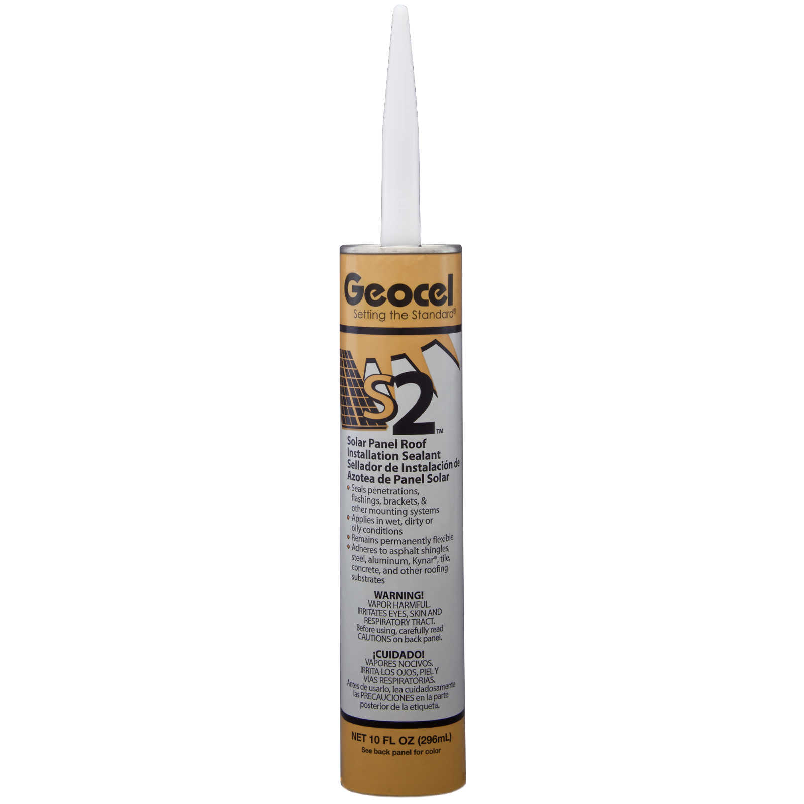 Geocel S2 Solar Panel Sealant - 10oz. Carton of 12 Tubes