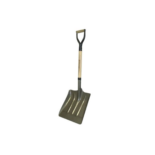 Cr Steel Square Coal Shovel With Wood D Handle From Buymbscom