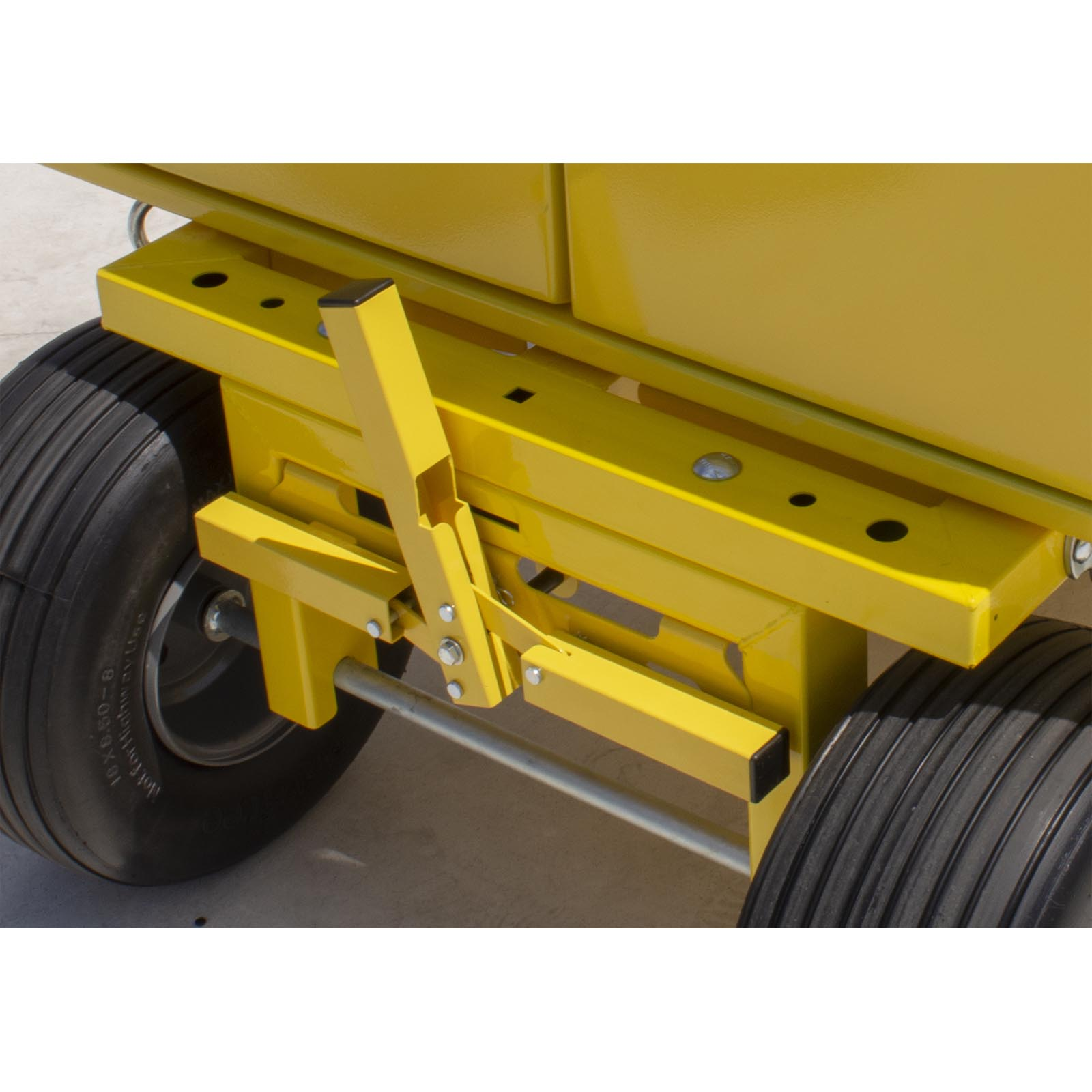 Tie Down Penetrator Cart Quick Brake System