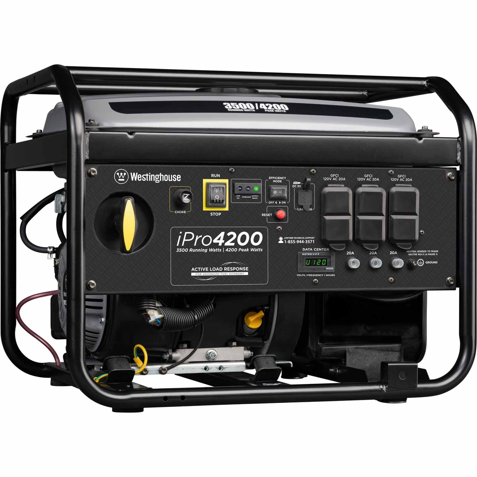 Westinghouse iPro4200 - 4,200-Peak Watts Portable Inverter Generator