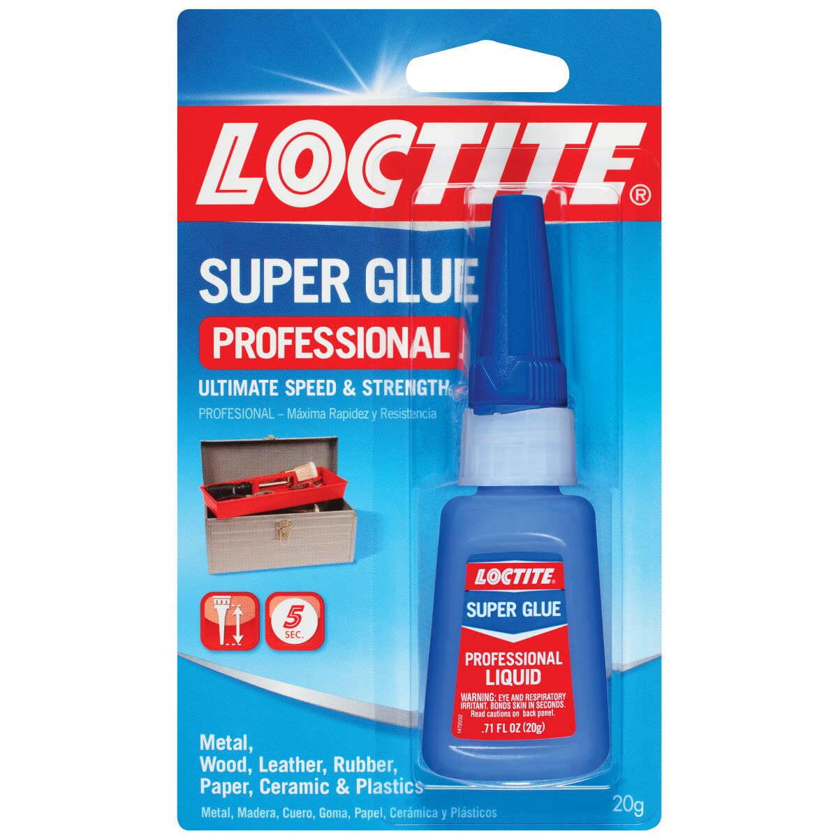 Loctite Super Glue Professional Bottle