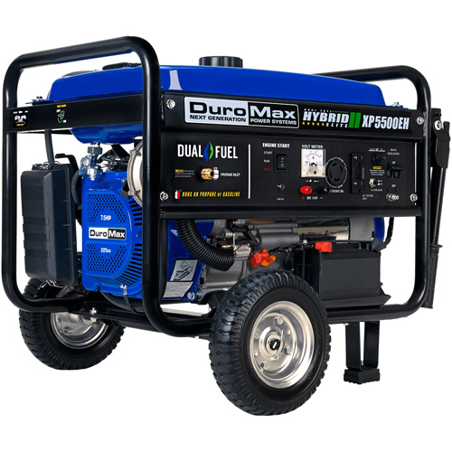 DuroMax XP5500EH 7.5HP Dual Fuel Electric Start Portable Generator