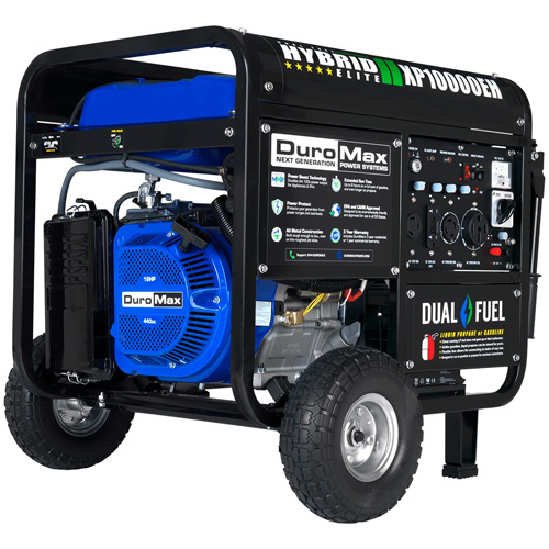 DuroMax XP10000EH 18HP Dual Fuel Electric Start Portable Generator