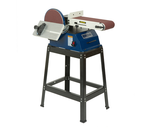 Rikon 1hp 6in x 48in belt sander with 10in disc and for 10 sanding disc for table saw