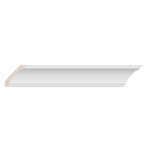 Classic Crown - 8ft. - White