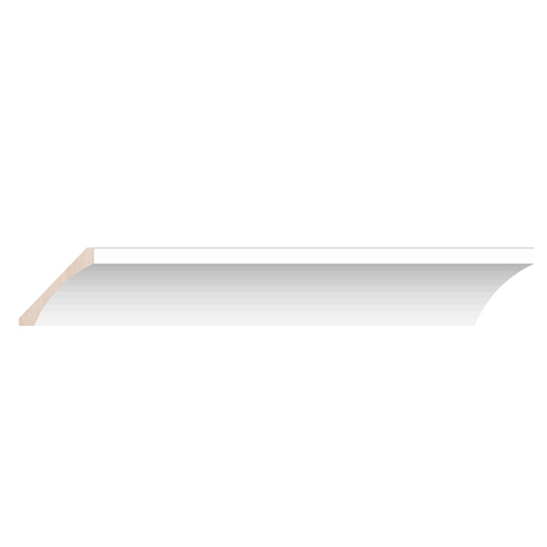 Cove Crown - 8ft. - White