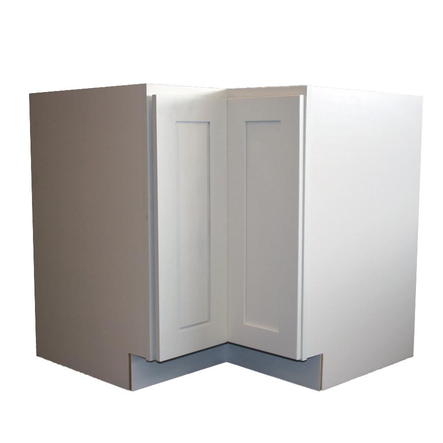 Base Lazy Susan Corner Cabinet - 33in. - White