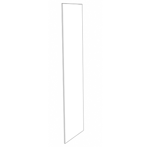 Deep Refrig End Panel - 3in. x 84in. - White