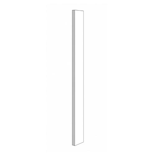 Wall Filler - 3in. x 84in. - White