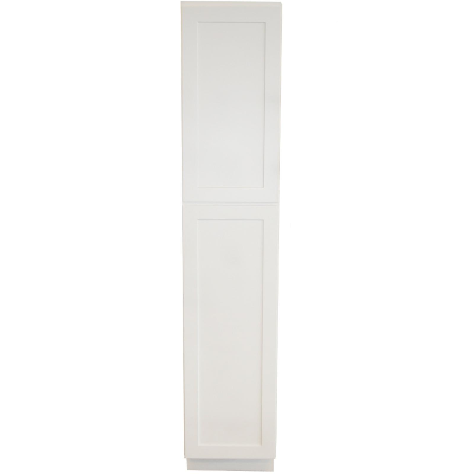 Utility Cabinet - 8in. x 84in. x 24in. - White