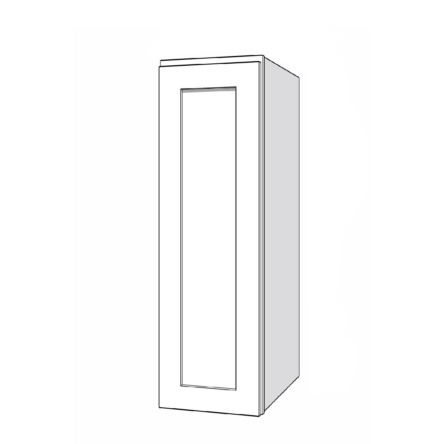 Wall Cabinet - 9in. x 30in. - White