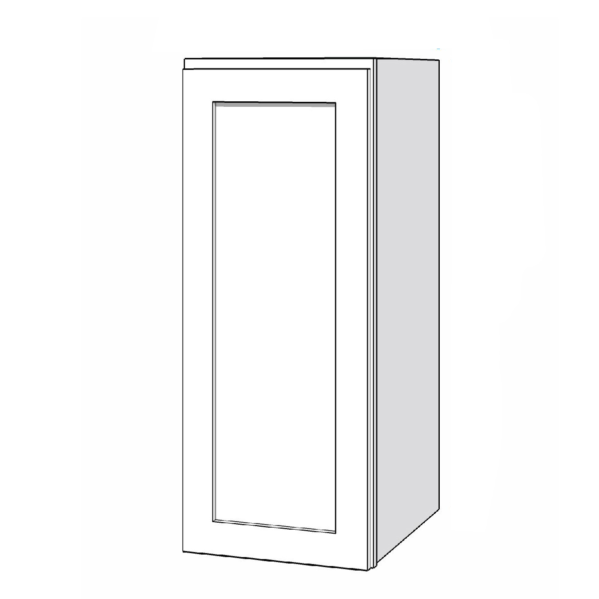 Wall Cabinet - 12in. x 30in. - White