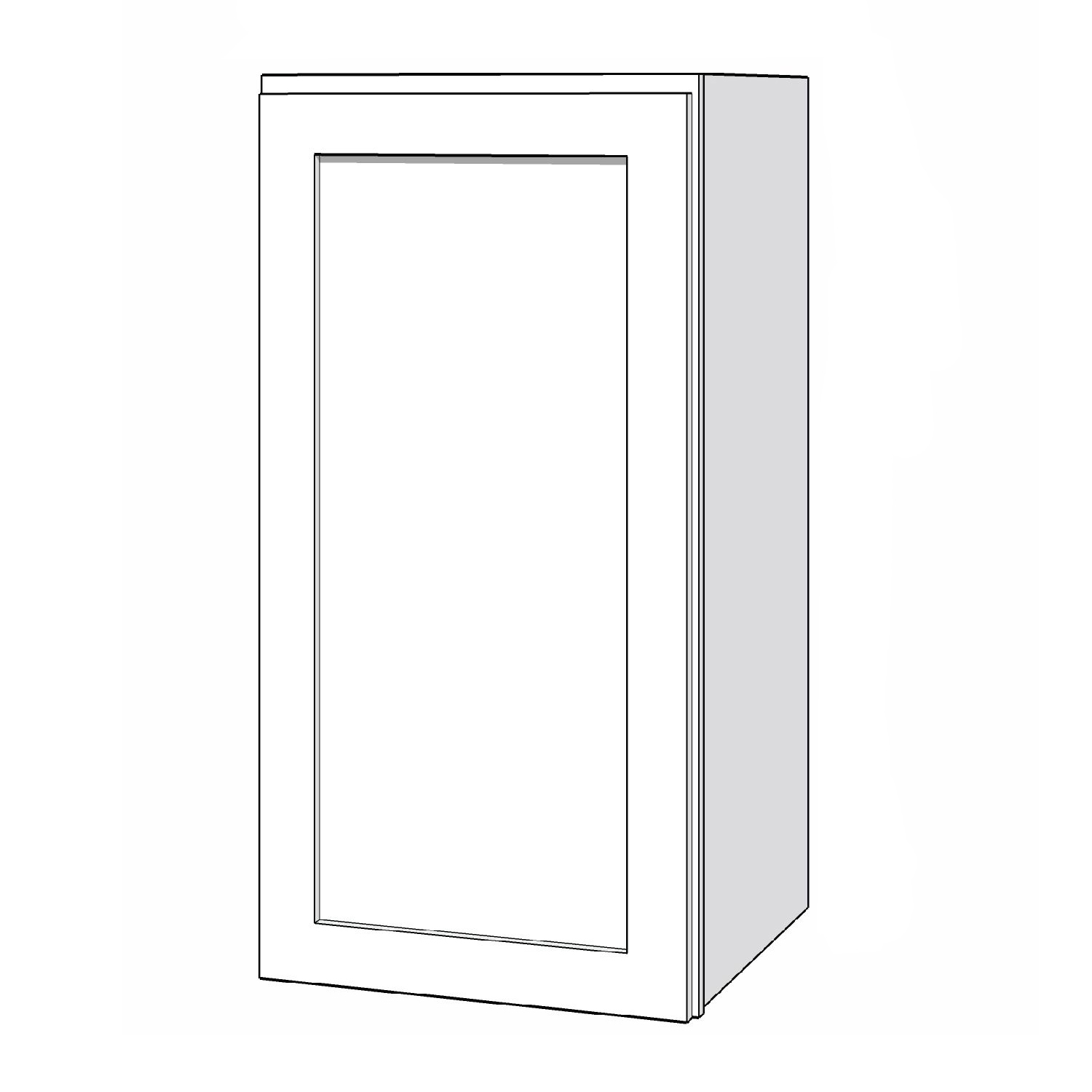 Wall Cabinet - 15in. x 30in. - White