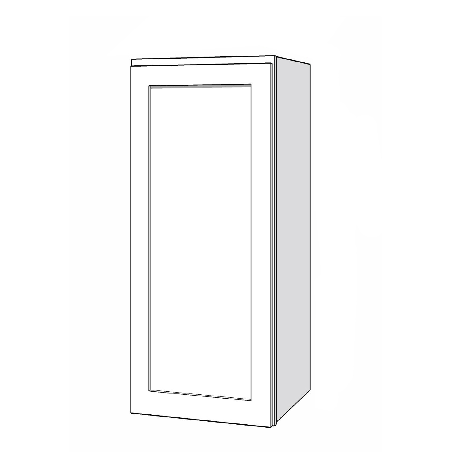 Wall Cabinet - 15in. x 36in. - White
