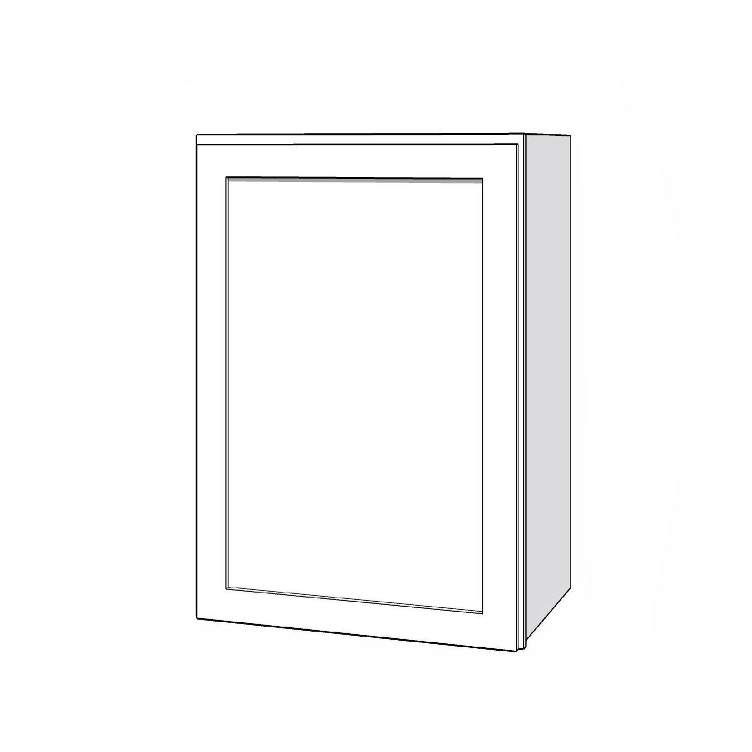 Wall Cabinet - 21in. x 30in. - White