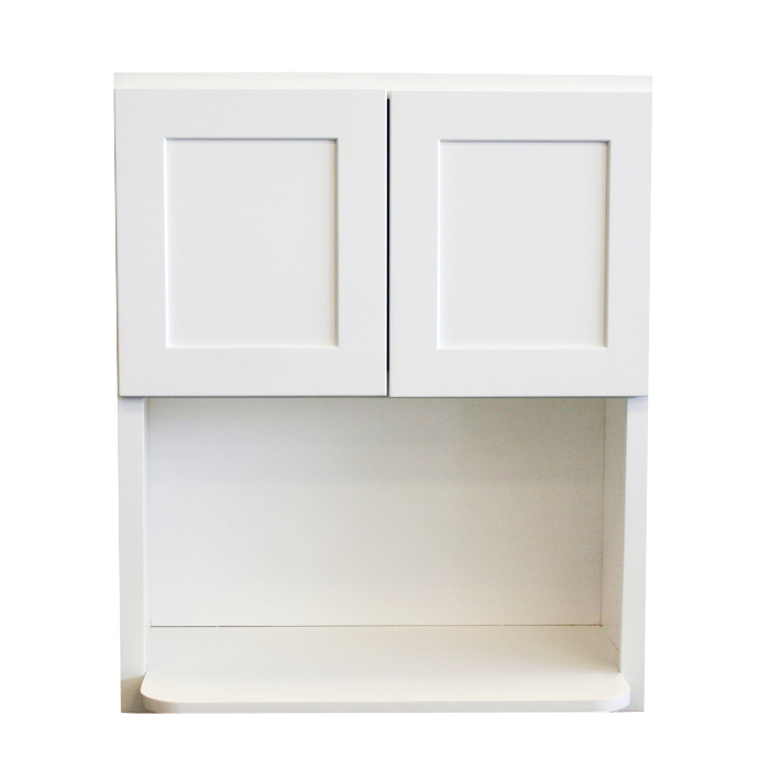 Wall Microwave Cabinet - 30in. x 18in. x 36in. - White