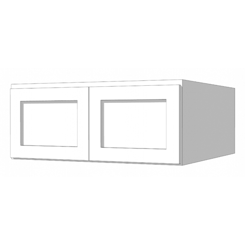 Wall Ref Deep Cabinet - 30in. x 12in. x 24in. - White