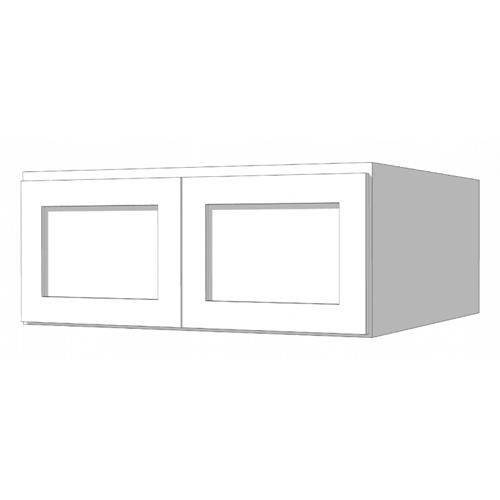 Wall Ref Deep Cabinet - 36in. x 18in.24in. - White