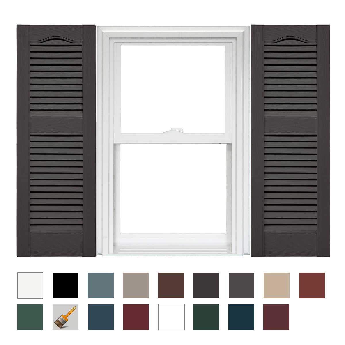 14.5 x 36 018 Tuxedo Gray
