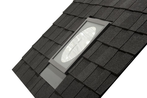 Velux Tlr Sun Tunnel Flat Glass Residential Skylight From