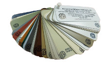 Quality Aluminum Gutter/Trim Coil Color Samples