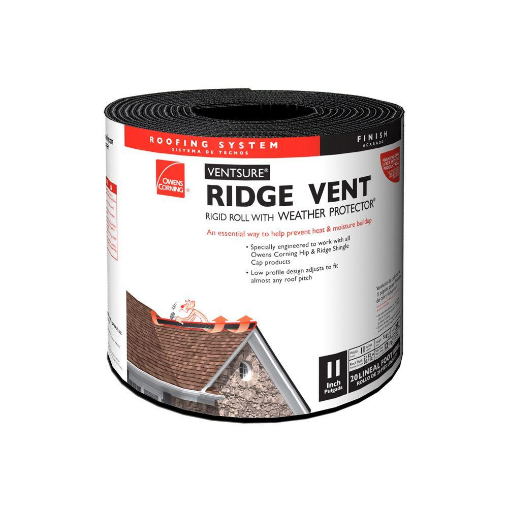 Owens corning ventsure rigid roll from for Off ridge vents